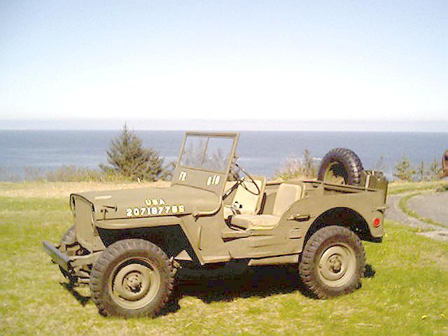 Kodiak Military History 1945 Willys Mb Jeep