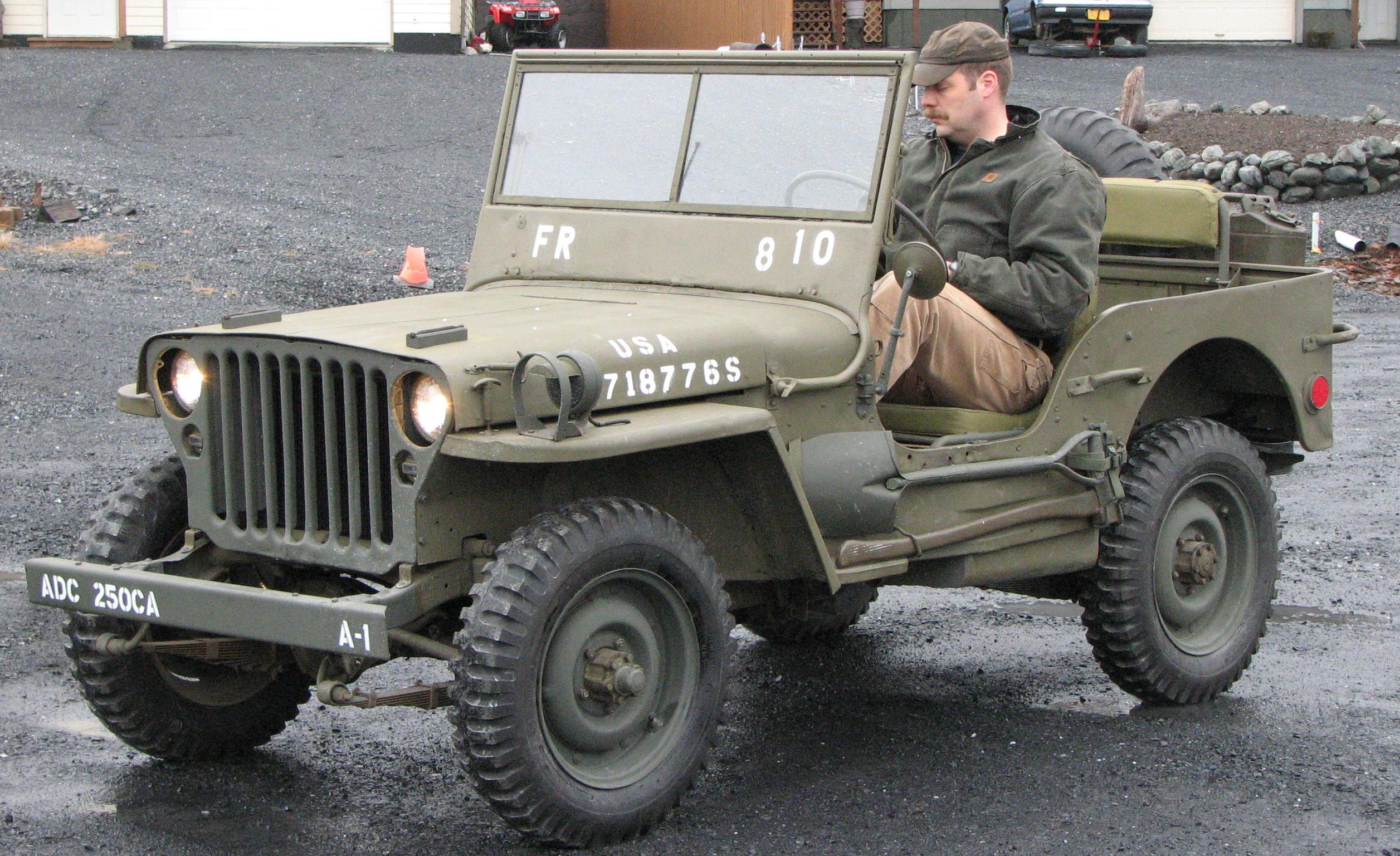 kodiak military history 1945 willys mb jeep. Black Bedroom Furniture Sets. Home Design Ideas