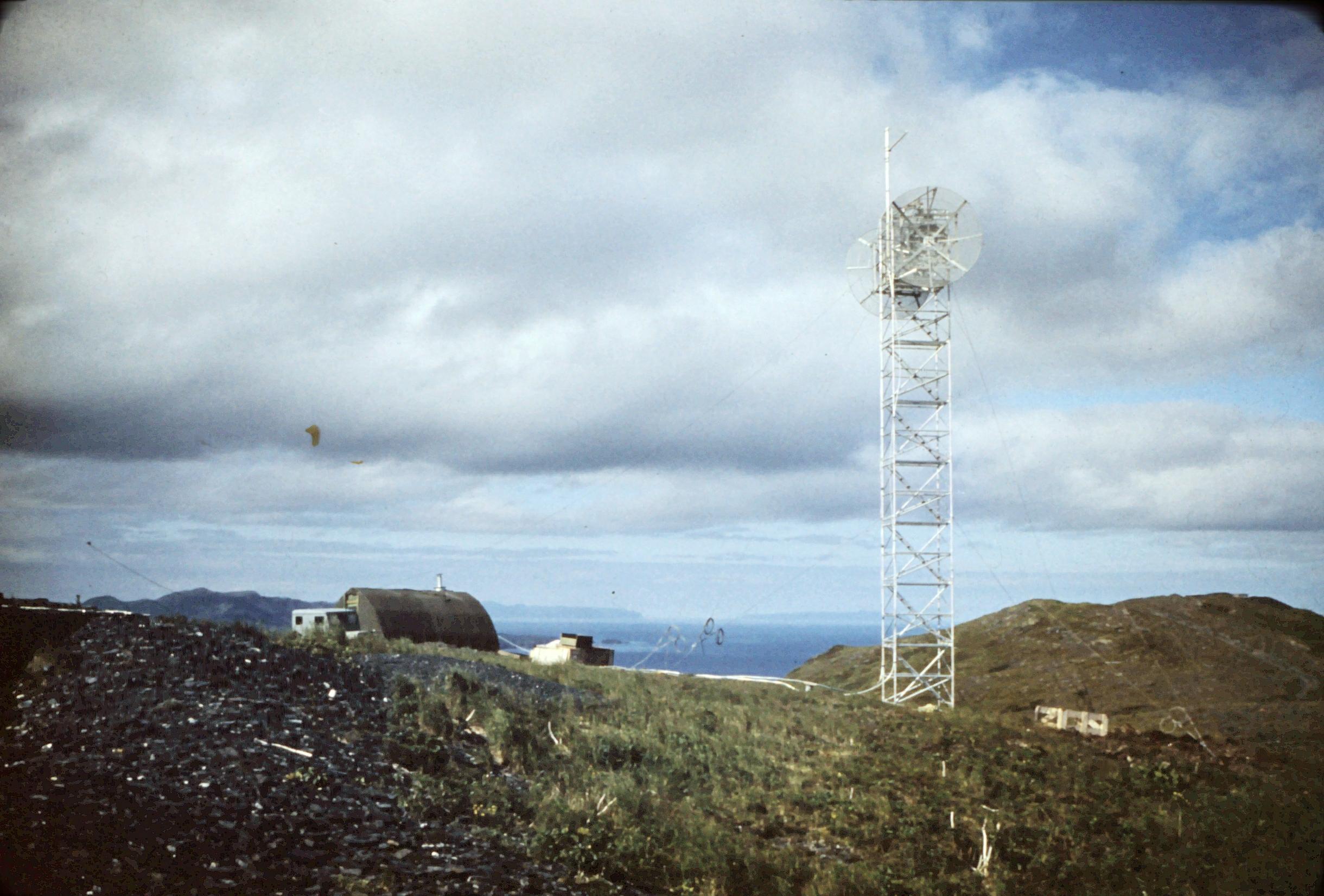 Kodiak Military History 1955 Pillar Mountain Microwave