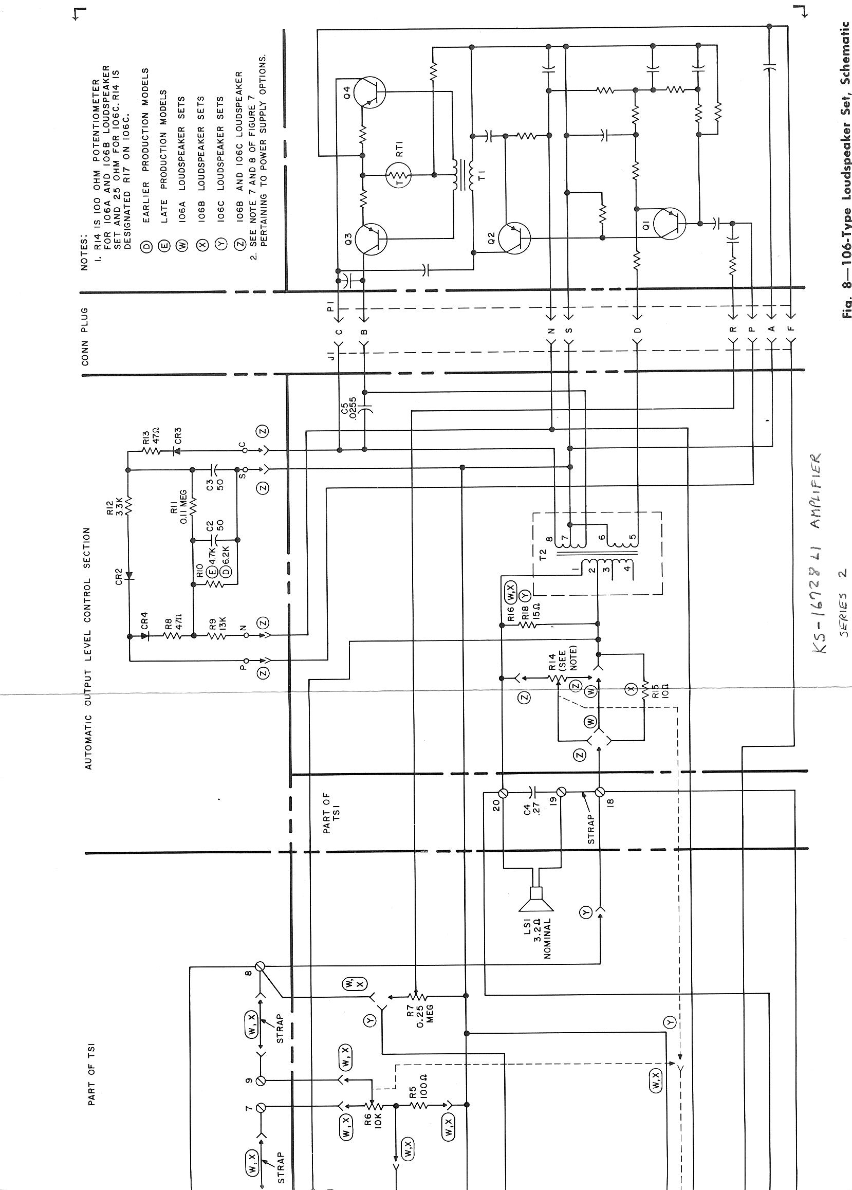 telephone technical references left half of schematic · right half of schematic
