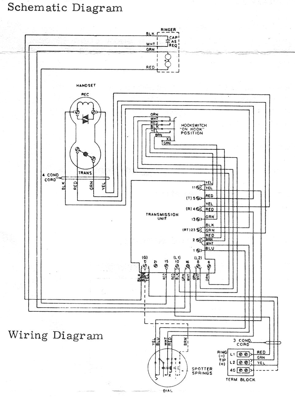 Telephone Technical References Thin Half Page System Diagram 2 For Key Use