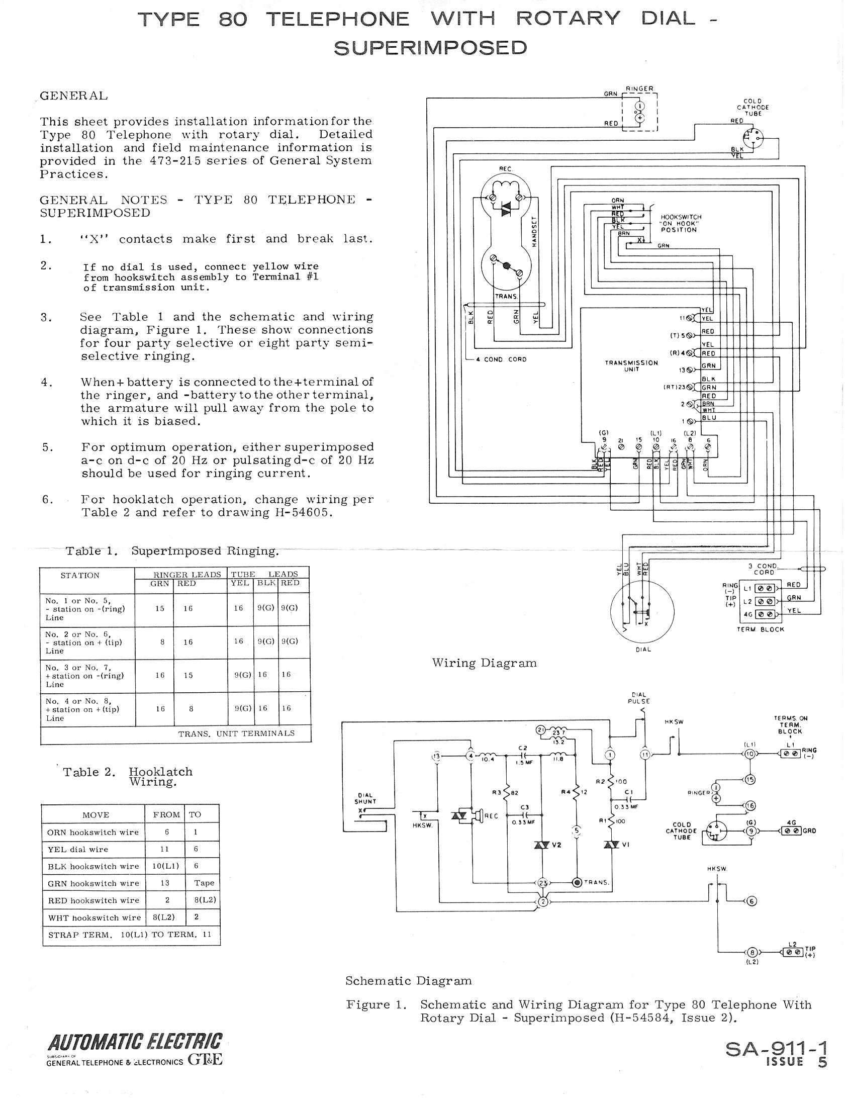 ae80 2 telephone technical references western electric 554 wiring diagram at nearapp.co