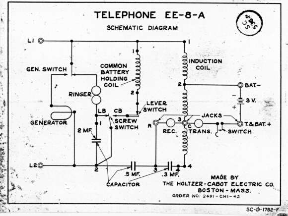 ee-8 field telephone magneto phone wiring diagram